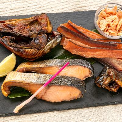 塩引鮭を色々な食べ方で味わってみてください