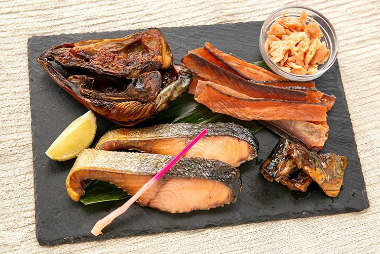 塩引き鮭を色々な食べ方で味わってみてください