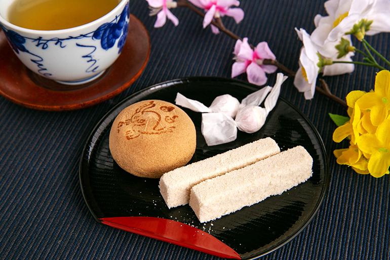 「良寛」ゆかりの和菓子で、ほっと一息