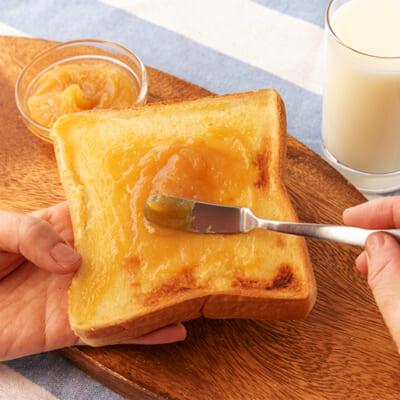 パンにさっと塗るだけで、スイーツに大変身!