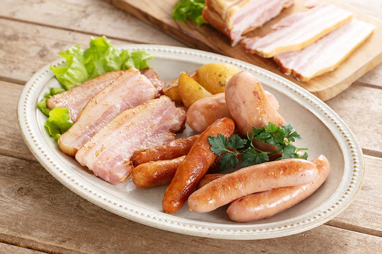 国産豚を使用!シンプルな味付けで美味しい