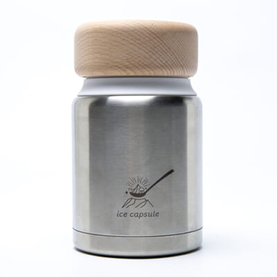 コンパクトアイスクリームメーカー「ice capsule」