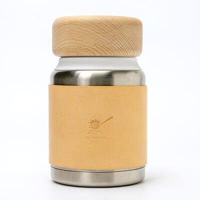 コンパクトアイスクリームメーカー「ice capsule」皮製スリーブ付き
