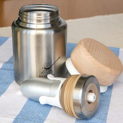 熱伝導率の高い「アルミニウム製」の容器を使用