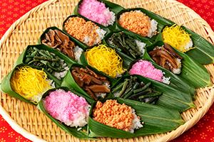 3.笹の葉寿司