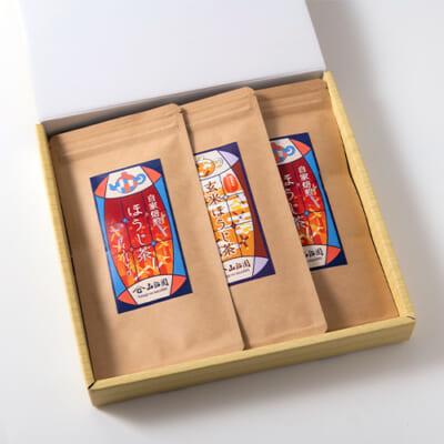 ティーバッグ 自家焙煎ほうじ茶セット 2種3袋入