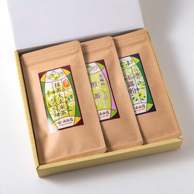 ティーバッグ 緑茶セット 3種3袋入