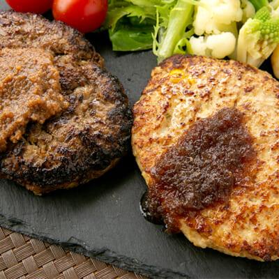 お肉本来の旨みを存分に味わえるハンバーグ