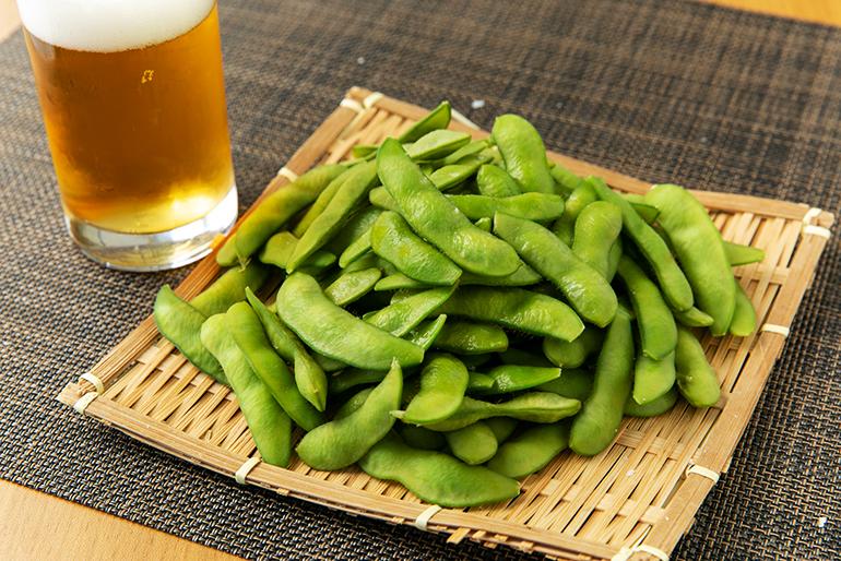 5月上旬から出荷、新潟県産枝豆のトップバッター
