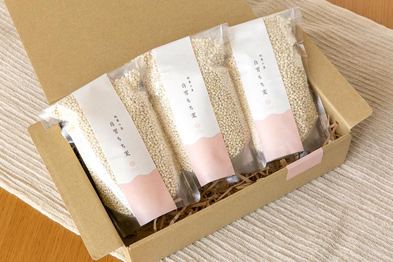 可愛らしいパッケージデザインで、贈り物にもピッタリです