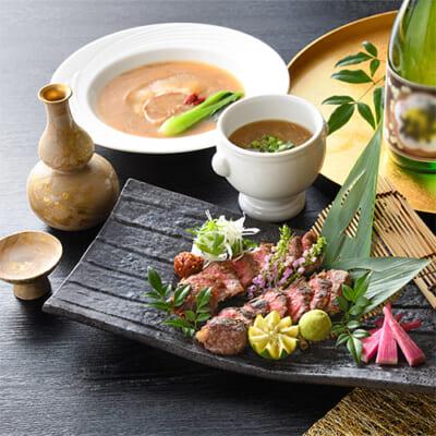 KIWAMI桜(くびき牛漬け&フカヒレ料理セット)