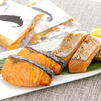 「緋美一徳」鮭の味噌漬け