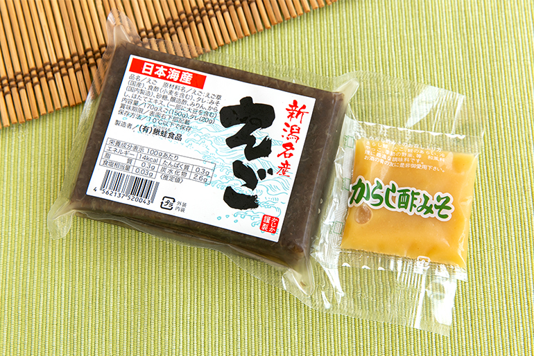 新潟県の郷土料理「えご」