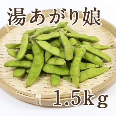 新潟県産 枝豆 湯あがり娘 1.5kg