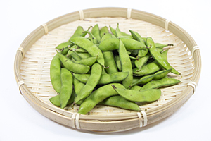 3.晩酌茶豆(8月中旬〜9月下旬)