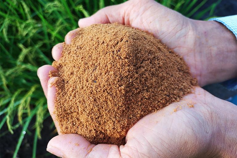 県から認証を受けた特別栽培米