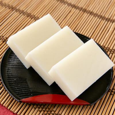 こがねもちならではの甘みを味わえる白餅