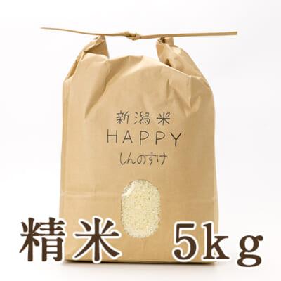 新潟県産 新潟米HAPPY新之助 精米5kg