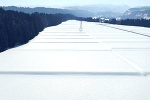 2.潤沢な水をもたらす積雪