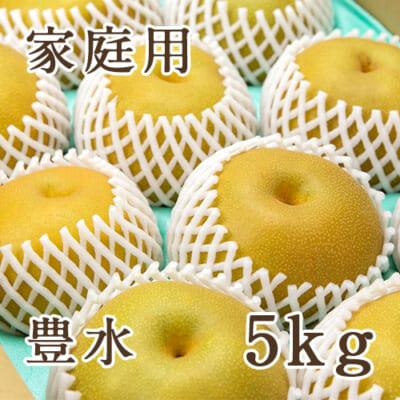 【家庭用】豊水 5kg