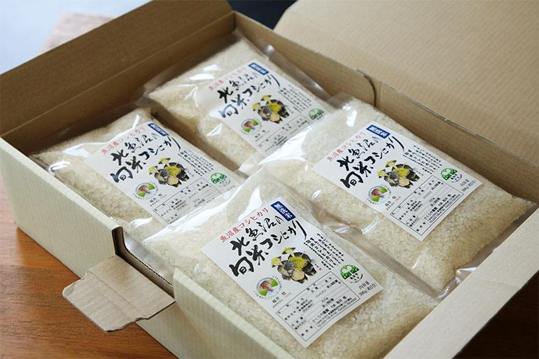 高品質なお米を、便利な無洗米で全国へお届けします!