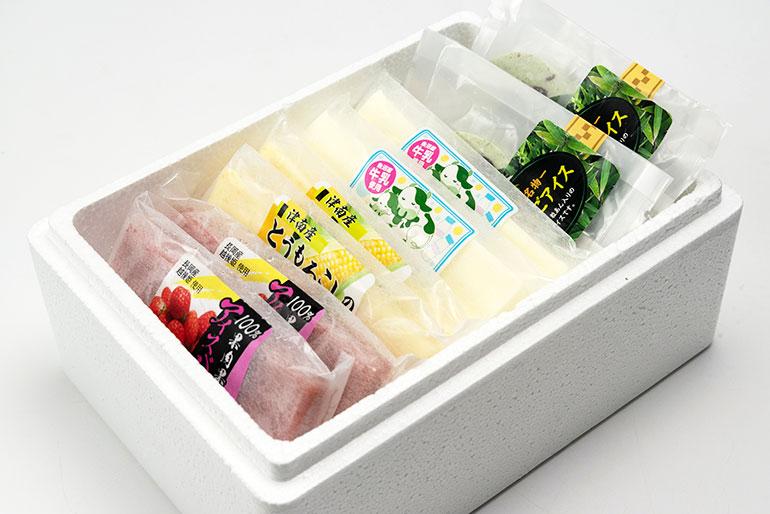 素材の美味しさをしっかりと感じられるアイスです