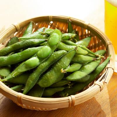 みずみずしく味の濃い絶品枝豆