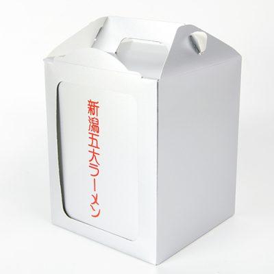 新潟五大ラーメン箱入れ岡持ちセット