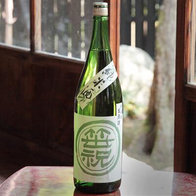 笹印 純米無濾過生原酒 1.8l(1升)