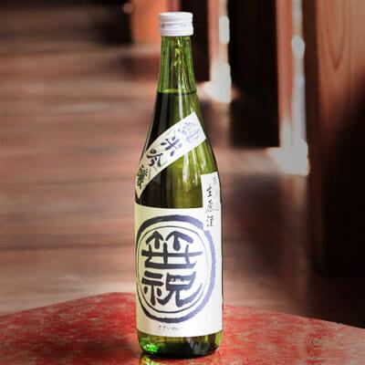 笹印 純米吟醸無濾過生原酒 1.8l(1升)