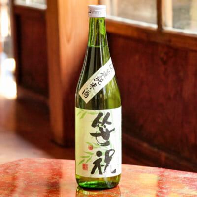 淡麗純米酒(青竹) 1.8l(1升)