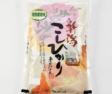 30年度米 新潟産コシヒカリ(特別栽培米・従来品種)