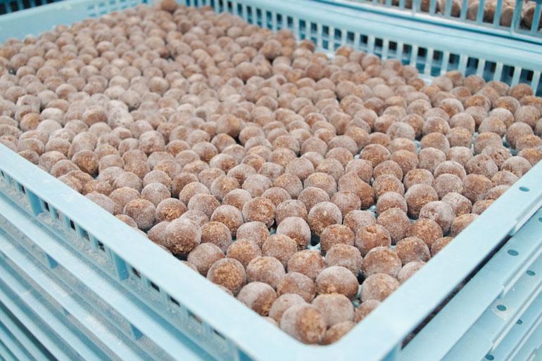 大豆・小豆・砂糖を原料に体に優しいお菓子を製造