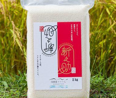 予約注文:30年度米 糸魚川産新之助