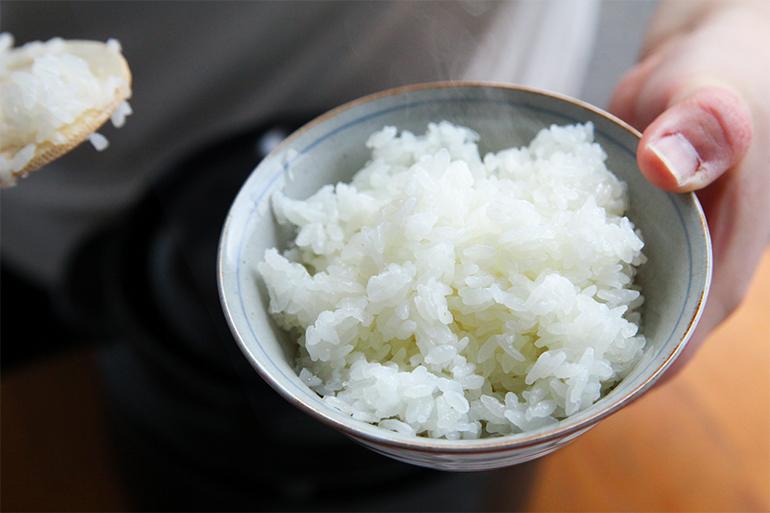 豊かな自然がもたらす、甘くてもっちりとしたお米