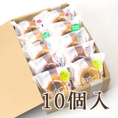 新潟県産焼きドーナツ 10個入り