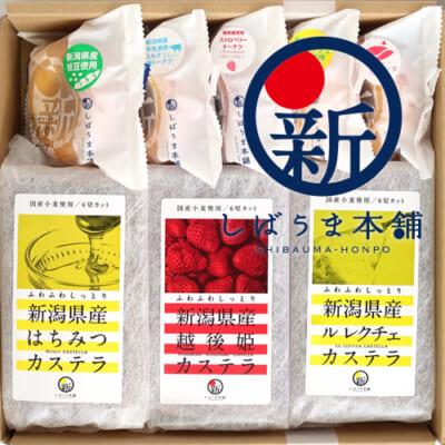 新潟県産カステラ・焼きドーナツ詰め合わせ