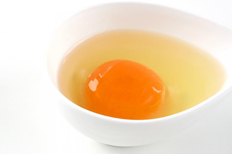 新発田産の新鮮な卵を100%使用!