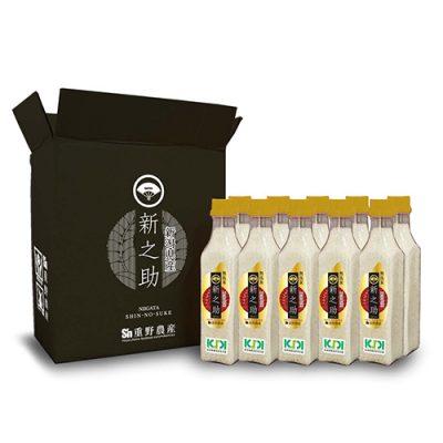 新潟県産新之助 無洗米ボトル2合×10本(3kg)
