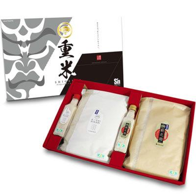 30年度米 新潟県産コシヒカリ・新之助 食べ比べセット