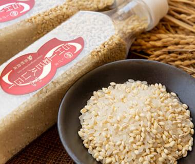 新潟県産米ともち麦のブレンド米(コシヒカリ・新之助)