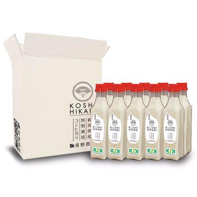 新潟産コシヒカリ(特別栽培米)無洗米ボトル2合×10本(3kg)
