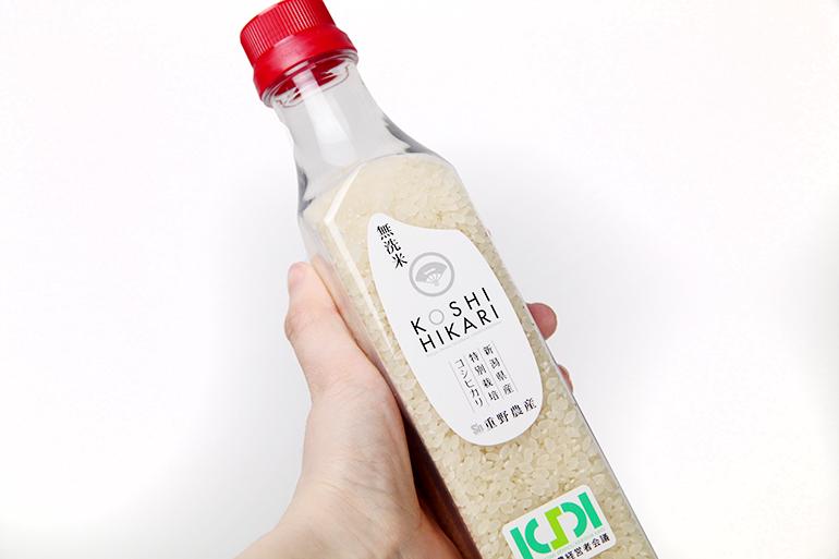 新潟県産コシヒカリを便利な無洗米でご用意!