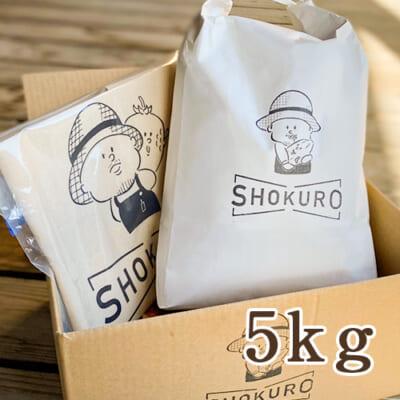 新潟産 コシヒカリ「SHOKURO米」 精米 5kg