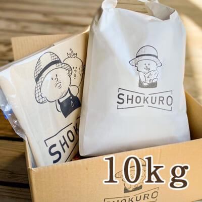 新潟産 コシヒカリ「SHOKURO米」 精米 10kg