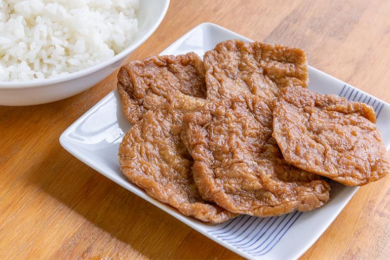 新潟産コシヒカリと老舗豆腐店の絶品お揚げ