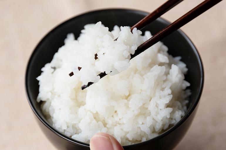 歯ごたえしっかり。ほんのり甘い大粒のお米