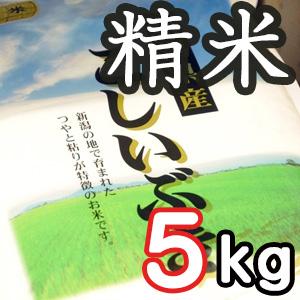 【定期購入】新潟県産こしいぶき 精米5kg