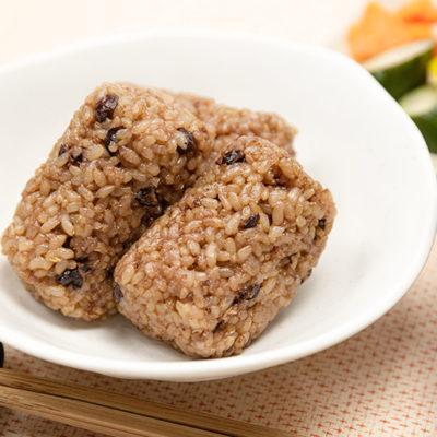 自家栽培米から作った美味しい玄米ご飯