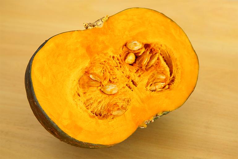 肉厚で食べごたえ満点!しっとり濃厚な完熟かぼちゃ